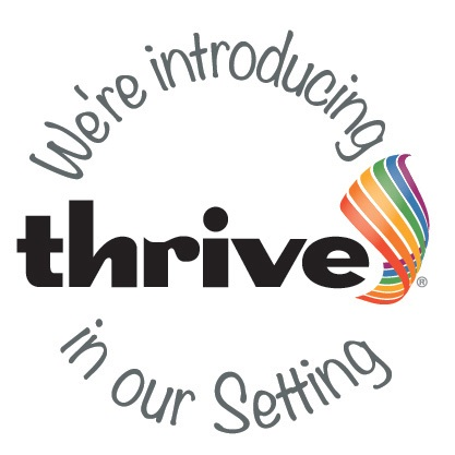 "Introducing ""Thrive"" logo"