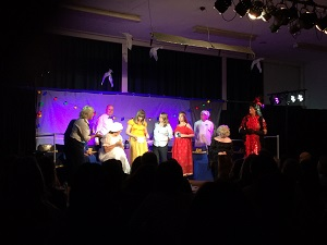 Murder mystery play at Saltford school