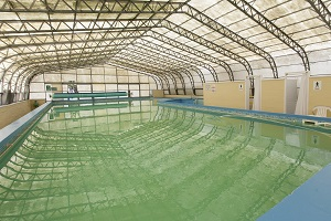 Saltford school swimming pool