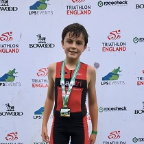 Ewan's triathlon success