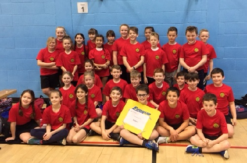 Saltford athletics team 2018