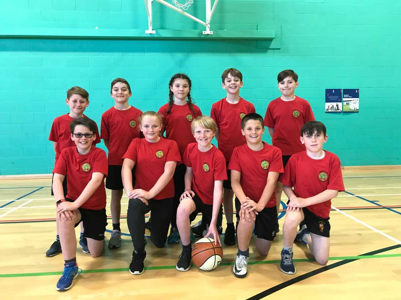 Saltford school basketball team