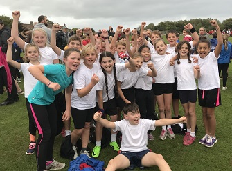 Saltford School cross country team