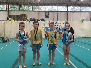 Medal winners at Baskervilles competition