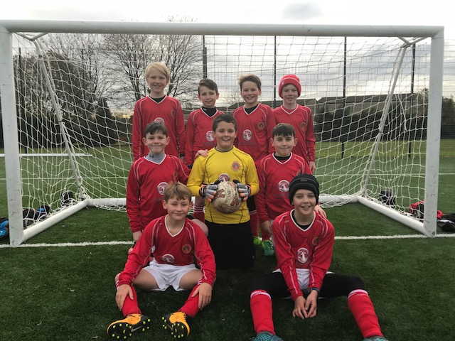 Saltford boys football team