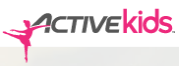 ACTIVEkids website logo